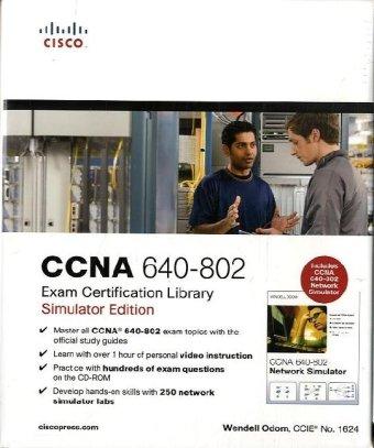CCNA 640-802 Exam Certification Library, Simulator Edition por Wendell Odom