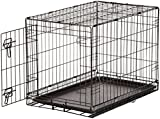 AmazonBasics Single-Door Folding Metal Dog Crate - 30 Inches