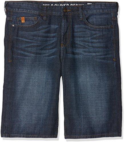 s.Oliver Big Size Herren Loose Fit Jeans 15.805.72.2421 Blau (Blue Denim Non Stretch 55y4) W40