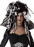 Fancy Me Erwachsene Damen Schwarz Weiß Corpse Bride Vampir Rastalocken Dreadlock Lockig Wild Halloween Horror Unheimlich Kostüm Kleid Outfit Perücke…