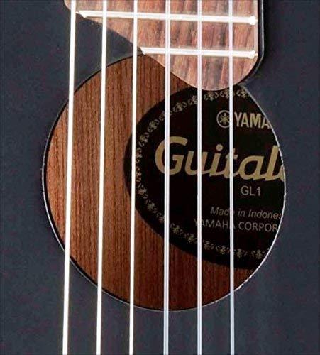 Yamaha GL1 BL Akustik Gitalele inkl. Gigbag schwarz - 3