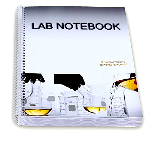 Chemistry Lab Notebook 75 Carbonless Duplicating Pages
