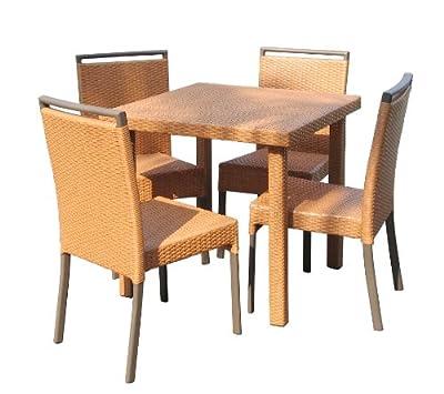 Poly-Rattan-Stuhl Dining III