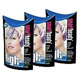 Smart Beauty blaue Haarfarbe für Strähnen, elegant, schön, elektrisch blaue Haarfarbe, 3 Stück