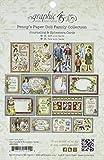 Graphic 45Penny 's Puppe Familie Kuriositäten und Journaling Karten, Papier, Mehrfarbig, 20,1x 13x 0,8cm