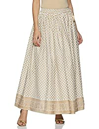 Ayukta Women's Cotton Skirt Bottom
