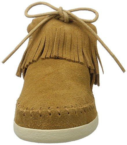 Minnetonka Damen Venice Sneaker Beige (taupe)