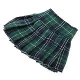 Toygogo 8 Farben Classic School Style Plaid Faltenrock Kleid Outfit Für 12 Zoll Blythe Licca Pullip...