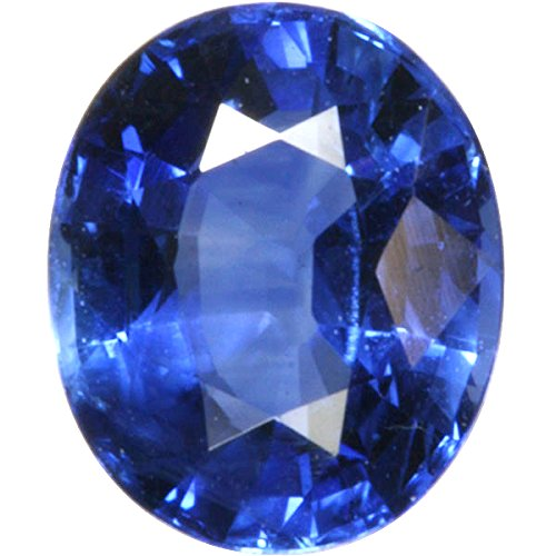 S Kumar Gems & Jewels Neelam Stone Certified Natural Blue Sapphire Gemstone 11.25 Ratti