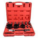 Rueda de Extractor de buje de rueda Extractor Bujes Juego de extractor con martillo deslizante LARS360 12 piezas