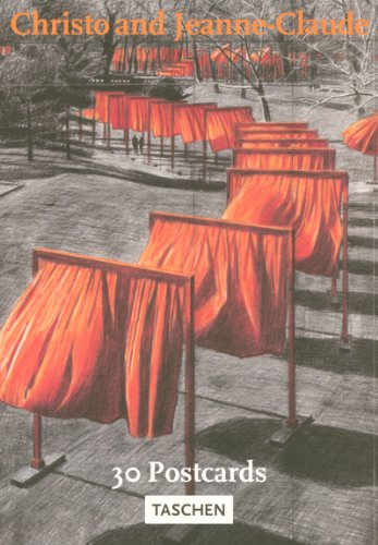 Christo & Jeanne-Claude, The Gates - Postkartenbuch: The Gates, Central Park, New York City (Postcardbooks) (Christo Gates Javacheff)