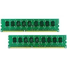 Synology DDR3-1600 2x 4GB 8GB DDR3 1600MHz ECC memory module - memory modules (DDR3, PC/server, 240-pin DIMM, 2 x 4 GB)