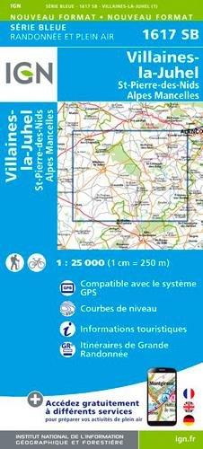 1617SB VILLAINES-LA-JUHEL/ST-PIERRE-DES-NIDS par IGN