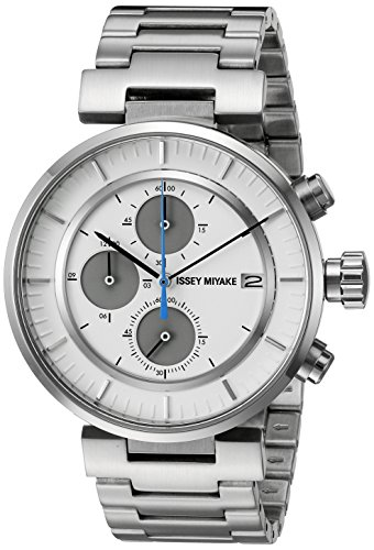 ISSEY MIYAKE Men's SILAY007 W Analog Display Quartz Silver Watch