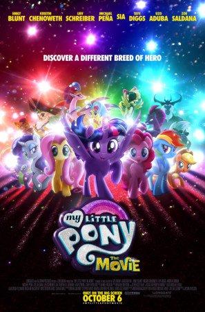 MY LITTLE PONY : THE MOVIE – US Movie Wall Poster Print - 30CM X 43CM Brand New