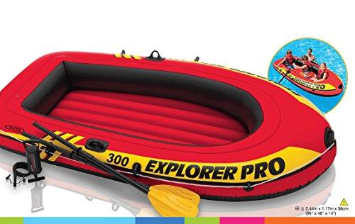 Intex - Explorer Pro 300 Aufblasbares Schlauchboot -