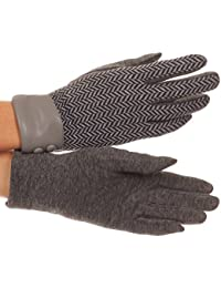 Sakkas Bronywn warme Winter-Handgelenk-Länge Winkel-Muster- Touch Screen-Handschuhe