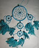 DREAM CATCHER BEAUTIFUL ITEM / DREAMCATCHER TURQUOISE BLUE / GREEN / FEATHERS