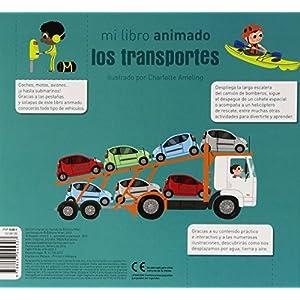 Los Transportes. Mi Libro Animado (Primeros aprendizajes)