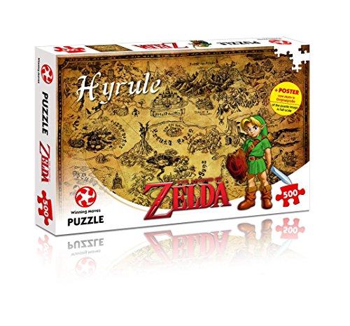 Preisvergleich Produktbild The Legend of Zelda - Hyrule Field - Original Lizensiertes Puzzle mit 500 Teilen Nintendo | Rollenspiele