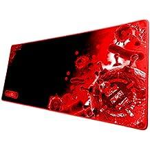 Accessory Power ENHANCE Pathogen XL - Alfombrilla de Ratón Gaming, Mousepad Antideslizante, rojo y negro.