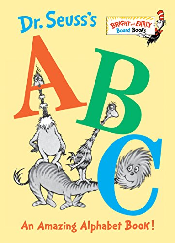 Dr. Seuss's ABC: An Amazing Alphabet Book! (Bright & Early Board Books(TM)) (Dr Worte Seuss)