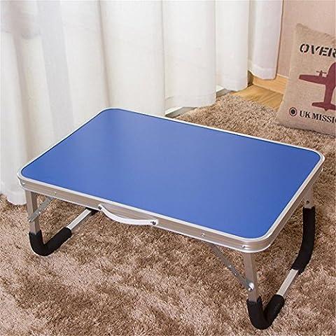 Laptop Schreibtisch Schlafsaal Klapptisch Easy To Learn Desk - Blau, Pink, Grün , blue