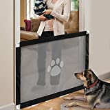 iPawde Magic Gate for Dog, Portable Dog Safe Guard Enclosure,Easy to Install & Lockable Safe Guard for Dogs Pet Keep Dogs Away from Kitchen/Upstairs/Indoor,31.5