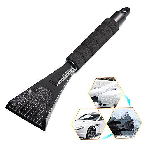 Haichen-Cars-rimozione-raschietto-per-ghiaccio-e-parabrezza-ghiaccio-con-impugnatura-morbida-nero