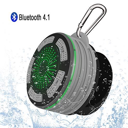 Altavoz Bluetooth Portátiles, Alitoo Inalámbrico IP67 Impermeable con Manos Libres, Gancho, Sonido...