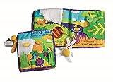Manhattan Toy Mitmach-Soft-Buch mit Spielzeug an einer Schnur, Sonniger Tag