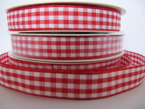 10 mm rojo diseño 5 yardas cinta decorativa diseño