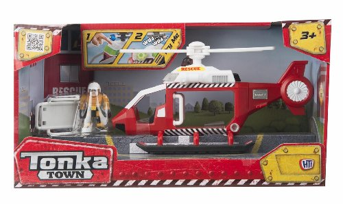 tonka-town-rescue-helicopter-playset-de-accin-color-rojo-y-blanco-hti-vhti-1415925