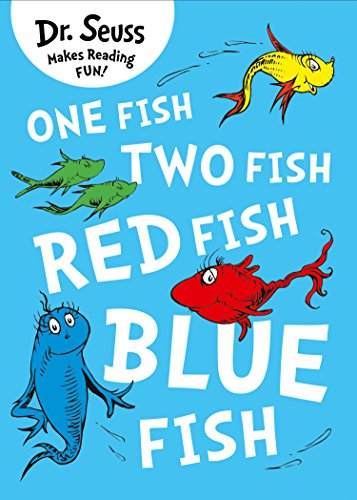 One Fish, Two Fish, Red Fish, Blue Fish (Dr. Seuss) (Sock Fish Green)