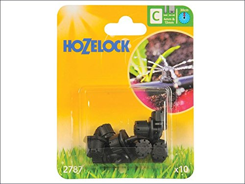 Hozelock Endline Adjustable Mini Sprinkler 4mm/13mm (10)
