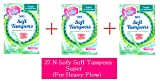 #8: Sofy Soft Tampons 27 Piece For Super Heavy Flow