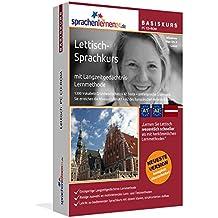 Lettisch-Basiskurs mit Langzeitgedächtnis-Lernmethode von Sprachenlernen24: Lernstufen A1 + A2. Lettisch lernen für Anfänger. Sprachkurs PC CD-ROM für Windows 10,8,7,Vista,XP / Linux / Mac OS X