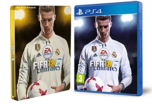 FIFA 18 - Edición estándar   Steelbook (Exclusivo en Amazon)
