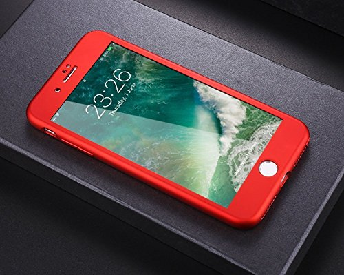 custodia iphone 6s 360 rosso