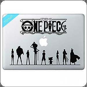 """Sticker One Piece Anime haut pour ordinateur portable Notebook Motif vinyle autocollant en vinyle pour Apple Macbook Pro Retina 13 """"couverture de peau"""