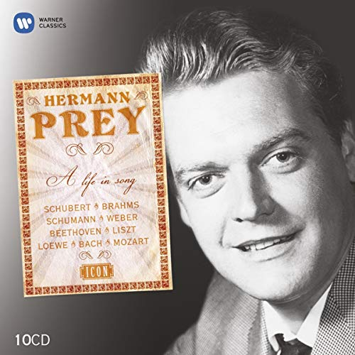 Icon : Hermann Prey (Coffret 10 CD)