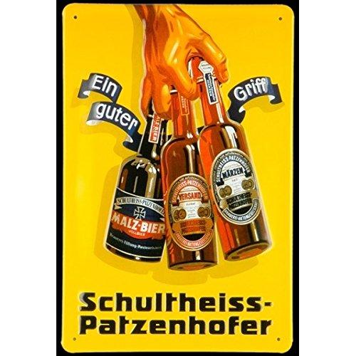 schultheiss-patzen-hofer-targa-in-metallo-20-x-30-cm