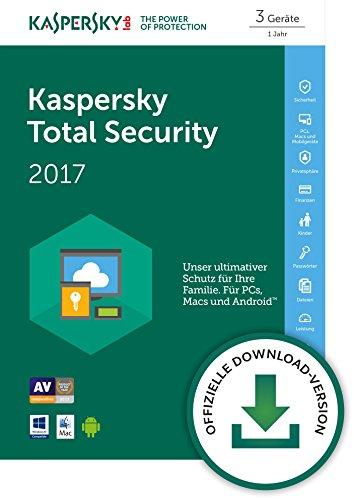 Kaspersky Total Security 2017 Download - [Online Code]