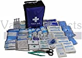 195 Piece Ultimate Comprehensive First Aid Kit Bag - Suitable For Most Medical Emergencies