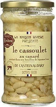 MAISON RIVIERE Substituts de Viande Cassoulet de Castelnaudary au Canard 760 g - Lot de 3