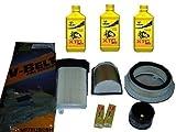 KIT TAGLIANDO YAMAHA T-MAX 500 2001/2007, OLIO BARDAHL,FILTRI,CANDELE,CINGHIA
