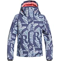 Roxy Jetty Chaqueta, Niñas, Azul (Crown Blue_freespace Girl), 14/XL