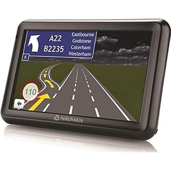"""GPS–Navman 5000LM–GPS 44Países de Europa Pantalla 5""""y actualización de Las Tarjetas de Vida"""