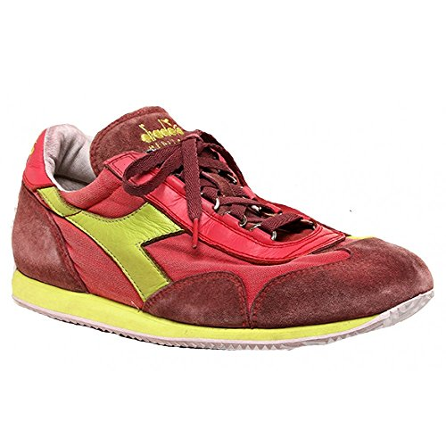 Diadora Heritage Equipe Sw Chaussures Rouges Dirty Red Men