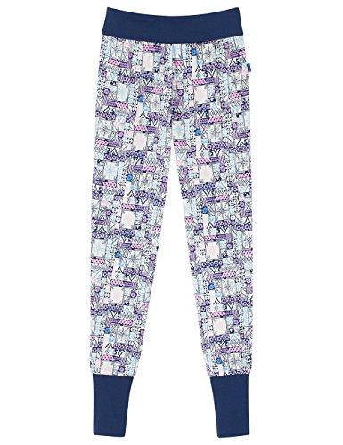 Schiesser Mädchen Schlafanzughose Mix&Relax Jerseypants, Blau (Blau 800), 164